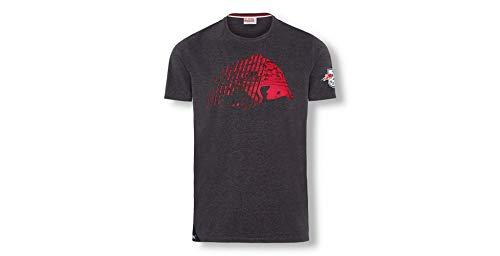 Mit dem RB Leipzig Stadium Vibe T-Shirt setzt du diese Saison ein Zeichen. Das T-Shirt in Grau punktet mit Teamwappen auf dem Ärmel und einem großen roten Red Bull Aufdruck vorne und an der Seite.