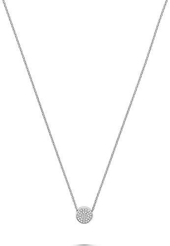 JETTE Damen-Kette Pivot 925er Silber rhodiniert 53 Zirkonia One Size 87745431
