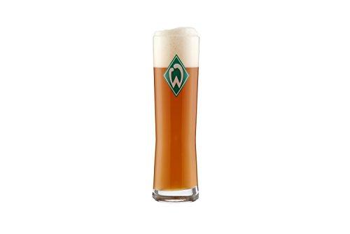 1 tolles Weizenglas für den Werder Bremen Fan Inhalt 0,5 Liter