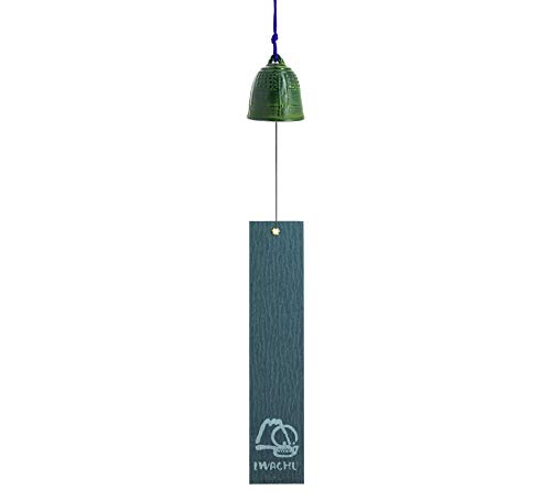 Iwachu mm27025 Glocke von Feng Shui Grand Grün 40 cm