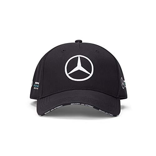 Mercedes-AMG Petronas Unisex Team BB Cap Baseballkappe, Schwarz, Einheitsgröße