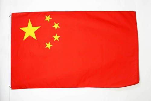 AZ FLAG Flagge China 150x90cm - CHINESISCHE Fahne 90 x 150 cm - flaggen Top Qualität