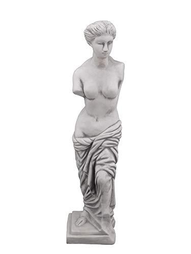 gartendekoparadies.de Massive Steinfigur Statue Venus von Milo aus Steinguss frostfest Raumdeko Gartendeko