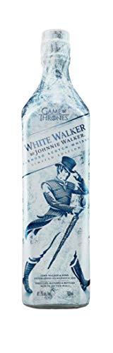 White Walker ist ein Whisky in limitierter Auflage, inspiriert von HBO's Game of Thrones Serie. Erwecken Sie die Anwesenheit der Weißen Wanderer. Dieser Whisky trägt die Kälte des Winters - mit seinem blau-weißen Design wird es ganz einfach sein, Sie nach Norden zu bringen, um sich mit dem Nachtkönig zu verbünden. Whisky-Experten empfehlen, diesen exklusiven, klassischen Whisky direkt aus dem Gefrierfach zu servieren.