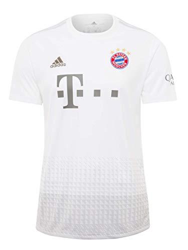 Ich freue mich darauf zu gehen! Das neue weiße Trikot für Erwachsene ist das offizielle Trikot des FC Bayern Away für die Saison 2019/2020 von adidas. Ein Muss für jeden FCB-Fan! Das Trikot ist ein offizielles Fanprodukt. Es ist ein Original-Trikot mit allen Details, wie dem hochwertigen gestickten Logo des Clubs und den Sponsorenlogos von Adidas, Telekom und Qatar Airways. Natürlich gibt es seit der 20. Meisterschaft vier Meisterstars, die als einzige Vereine der Bundesliga auf dem Logo des FC Bayern München stehen.