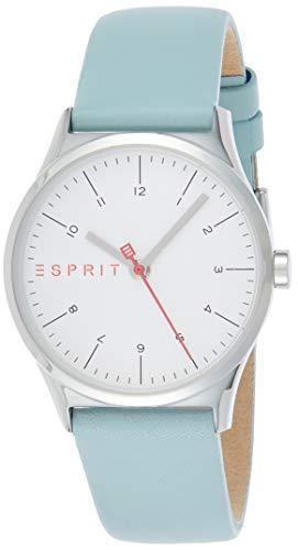 Esprit Damen Analog Quarz Uhr mit Leder Armband ES1L034L0015