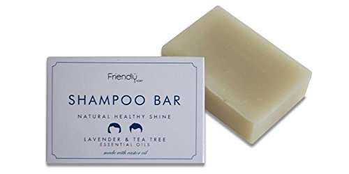 Natural Handmade Shampoo Bar by Friendly Soap