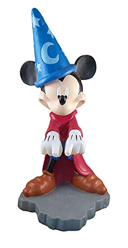 Design International Group Disney Mickey Fantasia Guss Spell Solar LED Garten Statue