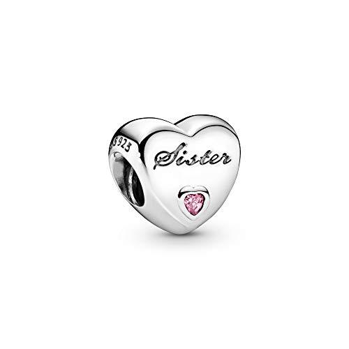 Pandora Charm Sister-Herz 791946PCZ