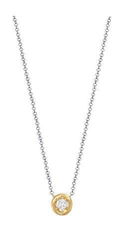Esprit Damen-Erbskette JW50036 925 Silber rhodiniert Zirkonia weiß Rundschliff