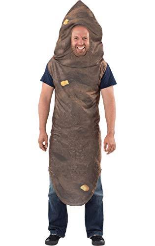 ORION COSTUMES Herren Nummer zwei Riesenhaufen mit Mais Lustige Neuheit Junggesellenabschied Maskenkostüm
