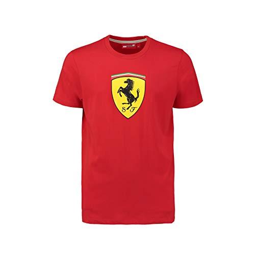 Ferrari Scuderia Herren Classic T-Shirt, Formel1, F1, Kimi Räikkönen, Fernando Alonso, rot, XL