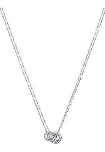JETTE Silver Damen-Kette 925er Silber 54 Zirkonia One Size 87023486