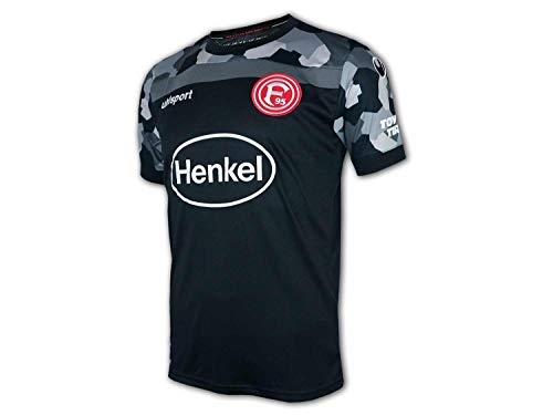 uhlsport Fortuna Düsseldorf Trikot 3rd 2020/2021 Herren schwarz/grau, L