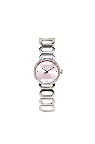 Esprit Uhr mit dekorativem Gliederarmband