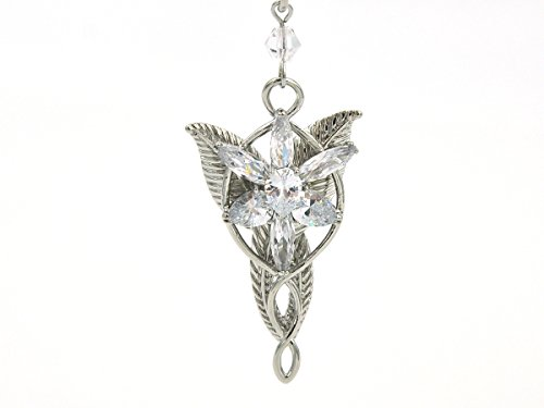 Herr der Ringe Halskette mit Arwens Abendstern Anhänger