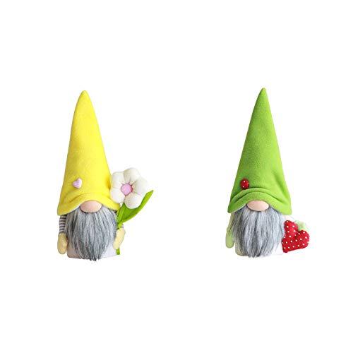 JQq Plüsch Wichtel Figuren Ostern Gesichtsloses altes Mann Plüschtier, Easter Osterhase Süße Frühling Geschenke Raum Gesichtsloses Sitzen Puppendekorationen Dekorationen geschenke ostern