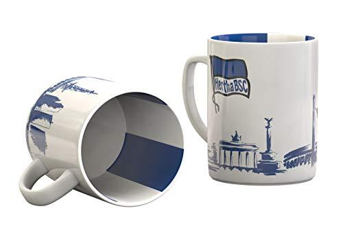 Hertha BSC Berlin Tasse, Becher, Kaffeetasse Skyline