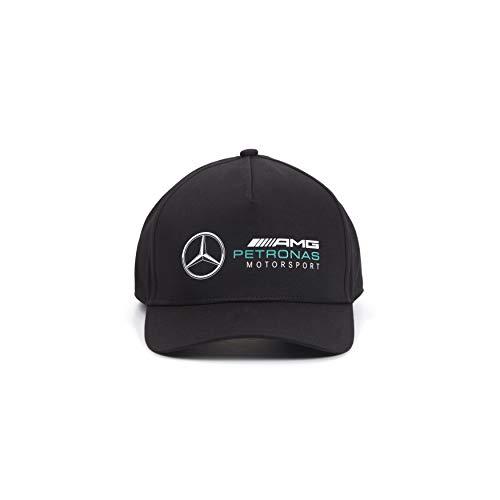 Mercedes-AMG Petronas - Offizielle Formel 1 Merchandise 2021 Kollektion - Damen und Herren - Racer Cap - Cap - Schwarz - One Size