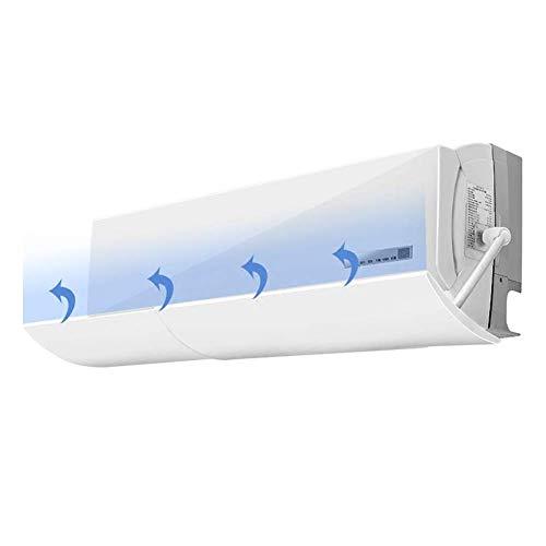 Klimaanlage Deflektor, zu Hause an der Wand montierte Klimaanlage Schallwand einstellbar, geeignet für Schlafzimmer Wohnzimmer Arbeitszimmer