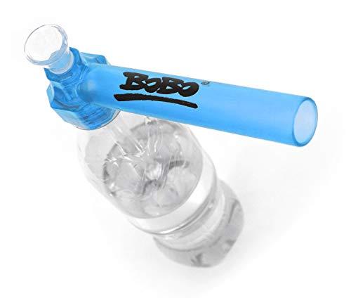 BoBo© Neu! inklusive 5 Siebe - Bong to Go - Das Original - Immer & Überall - Super Praktisch - Sauber - Wasserpfeiffe - Hookah - Extrem Robust (Blau)