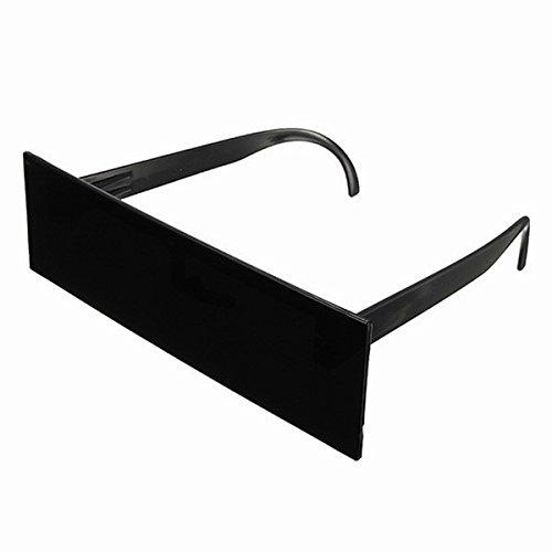 LUOEM Zensur Brille Sonnenbrille Lustige Party Brillen Cosplay Kostüm Zubehör
