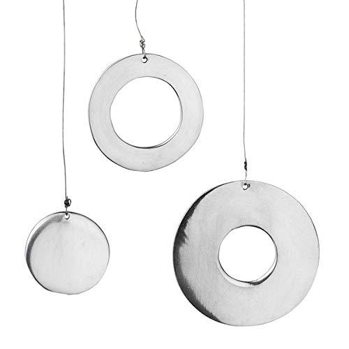 Räder Spiegelanhänger Kreis, 6er Set