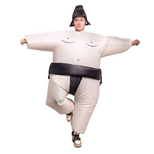 THEE Lustige Aufblasbare Kostüm Sumo Karneval Fasching Verkleidung Party Anzug, Kinder