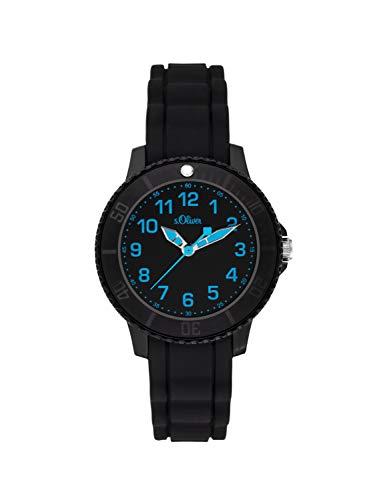 S.Oliver Jungen-Uhren Analog Quarz Kunststoff 32011621