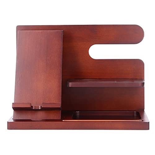 Handy-Aufbewahrungshalterung, stilvoller und praktischer High-End-Tablet-Organizer im Retro-Look für Wohnzimmer, Arbeitszimmer, Büro, Schlafzimmer
