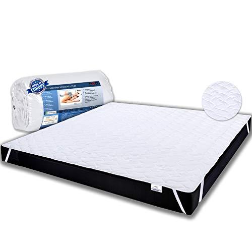 PHD Primera Matratzenschoner 180x200 cm - 60°C waschbar u. Allergiker-empfohlen für mehr Hygiene im Bett. Matratzenauflage und Matratzenschutz für Matratze, Boxspringbett u. Topper für 180 x 200
