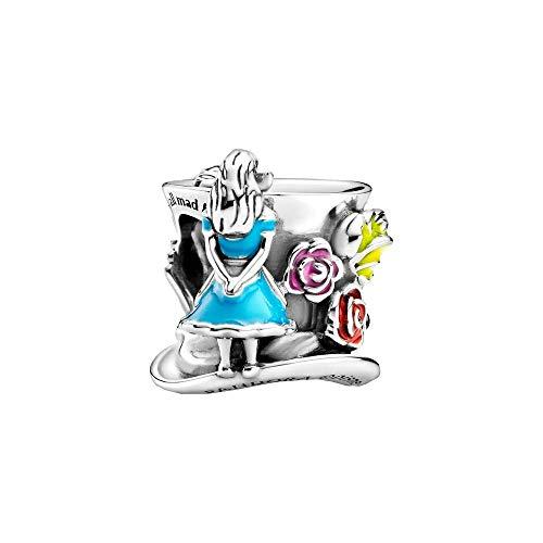 Pandora Disney Alice im Wunderland & Die Teegesellschaft des verrückten Hutmachers Charm, aus Sterlingsilber, 799348C01