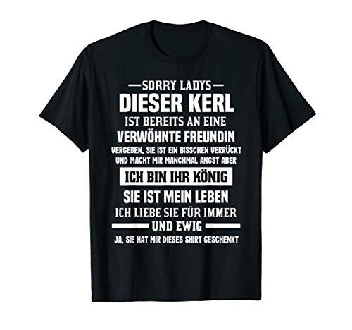 Paar Freund TShirt Sorry Ladys Dieser Kerl Ehemann T-Shirt