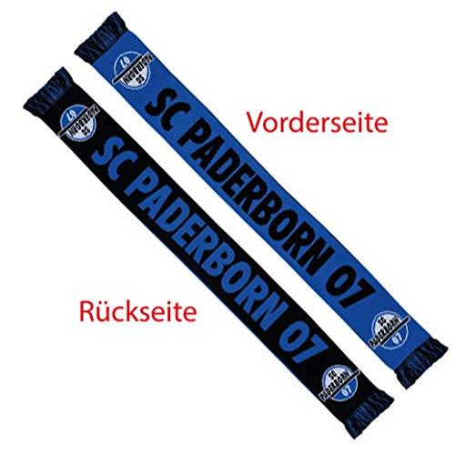 Flaggenfritze Schal SC Paderborn 07-17 x 150 cm + gratis Aufkleber