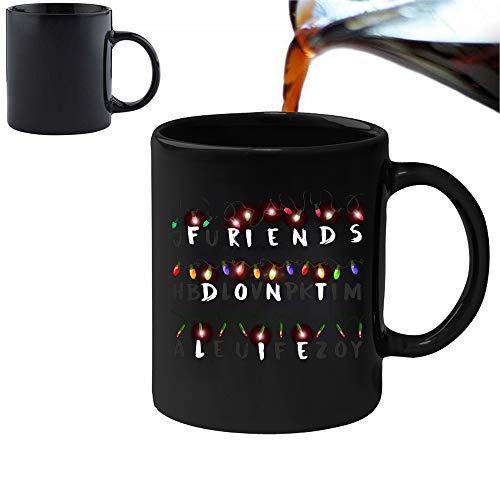 """Magische Tasse mit der Aufschrift""""Friends Don 't Lie"""", 313ml, aus Keramik, inspiriert von der Serie """"Stranger Things"""""""