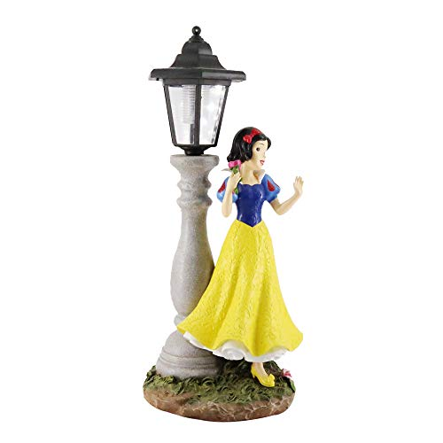 Smart Art Disney Princess Minnie LED Solar Outdoor-Ständer Lampe Figurine Garten Rasen Laterne (Snow White)