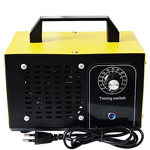 ATWFS Industrieller Ozongenerator mit Timer, 48,000mg/h 60,000mg/h Ozonisator, für Garagen, Bauernhöfe, Hotels und Haustiere Geruchskiller (60,000mg/H)