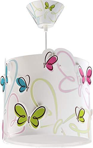 Dalber 62142 Farbige Schmetterlingen Hängeleuchte