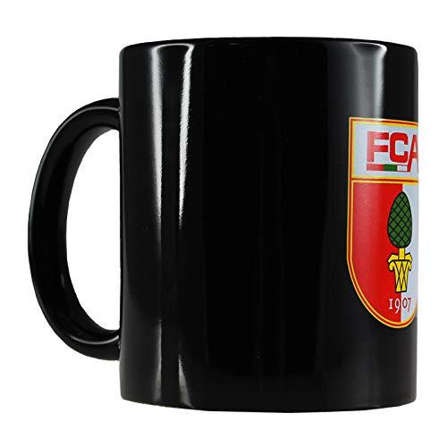 FC Augsburg Tasse Schwarz