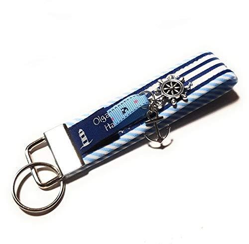 Schlüsselanhänger maritim Anker, Geschenk