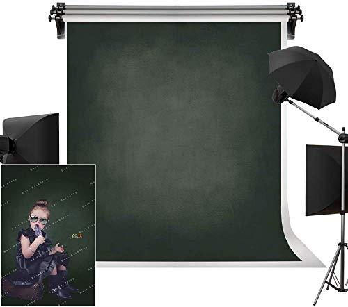 Kate Dunkelgrün Foto Hintergrund Leinwand 2x2m Mikro-Farbverlauf Photobooth Hintergrund Dunkle Hohe Sättigung Studio Hintergrund Dicke Hintergrund Kein Reflektiertes Licht