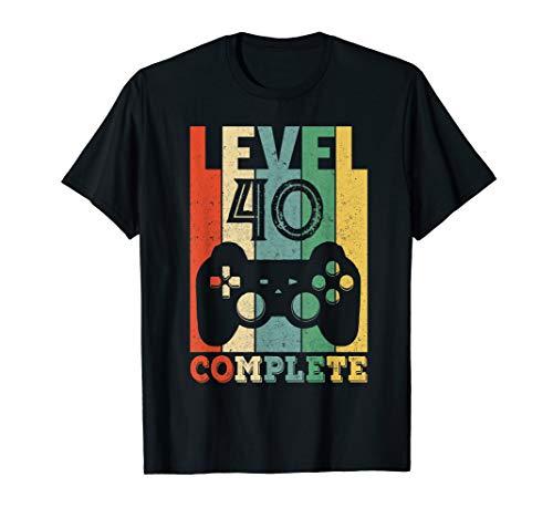 40 Jahre Geburtstag Männer Shirt Geschenk zum 40. Geburtstag T-Shirt