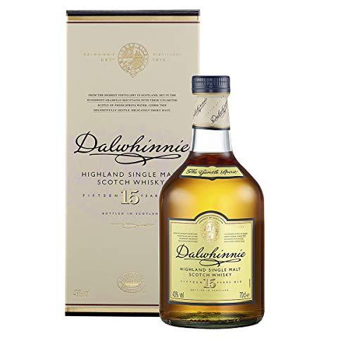 Dalwhinnie 15 Jahre Highland Single Malt Scotch Whisky – in Geschenkbox (1 x 0.7 l)