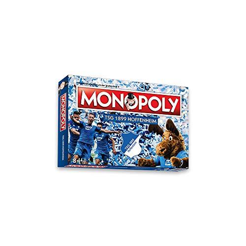 Das beliebte Brettspiel für Jung und Alt ist jetzt auch als TSG Edition erhältlich. Spielausstattung: Spielplan8 Spielfiguren28 Besitzrechtkarten16 Auswärtsspielkarten16 Heimspielkarten1 Satz Monopoly-Spielgeld32 Tribünen12 Stadien2 WürfelSpielregeln