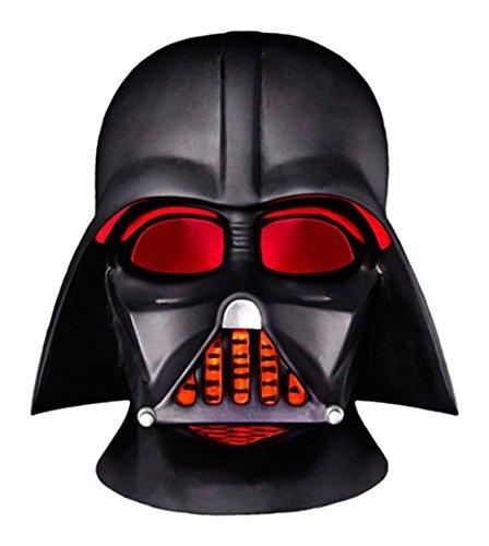 Groovy gr90669Helm Set Darth Vader Star Wars LED Schreibtischlampe mit batteriebetrieben, Kunststoff, schwarz, 15x 16x 15cm