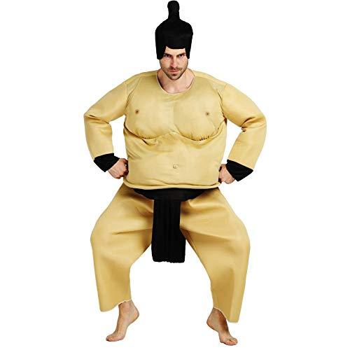 SNIIA Nicht aufblasbare Sumo Kostüm Wrestling Fat Suit Halloween Kostüm Blow Up Lustige Neuheit Cosplay für Erwachsene Kinder
