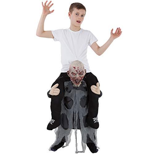 Morph Kinder Zombie Huckepack Kostüm Lustige Fahrt auf Täuschung Tragen Mich Kleidung