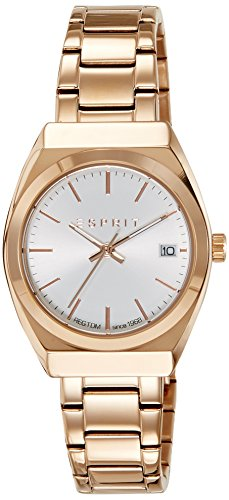 ESPRIT Damen Analog Quarz Smart Watch Armbanduhr mit Edelstahl Armband ES108522004