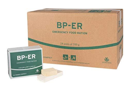 BP ER Elite Emergency Food 24 x 500 Gramm Einheit Langzeitnahrung - Produkt BPA-Frei und hermetisch versiegelt ( Zertifikat vom Händler Lebenskraft )
