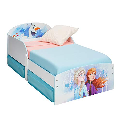 Worlds Apart Toddler Bed with Storage Drawers, Single